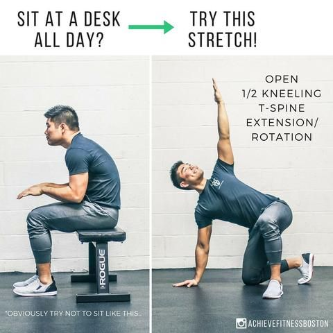 10 simple moves you should do if you sit too much in 2020
