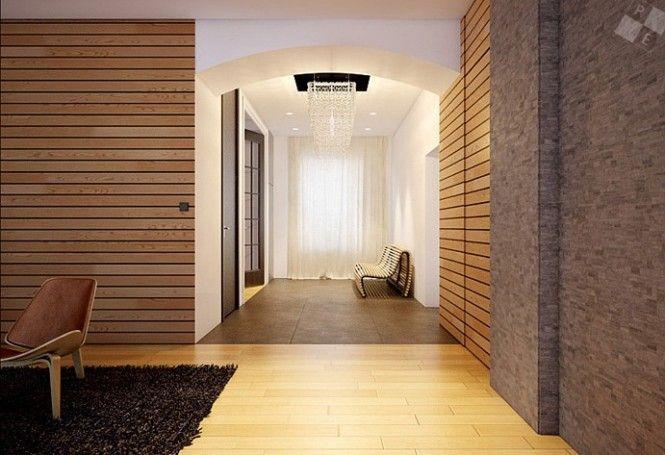 loft house in london modern wood clad interior walls homedee com