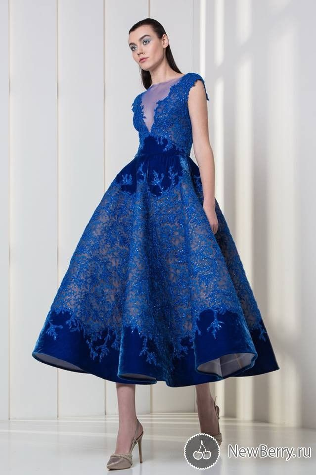 Blue Cocktail Dresses 2018