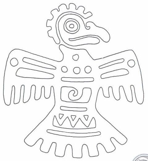 Take A Look At My Free And Printable Aztec Symbol Collection They Are Excellent Patterns Motifs For Any Kind Of Crafts