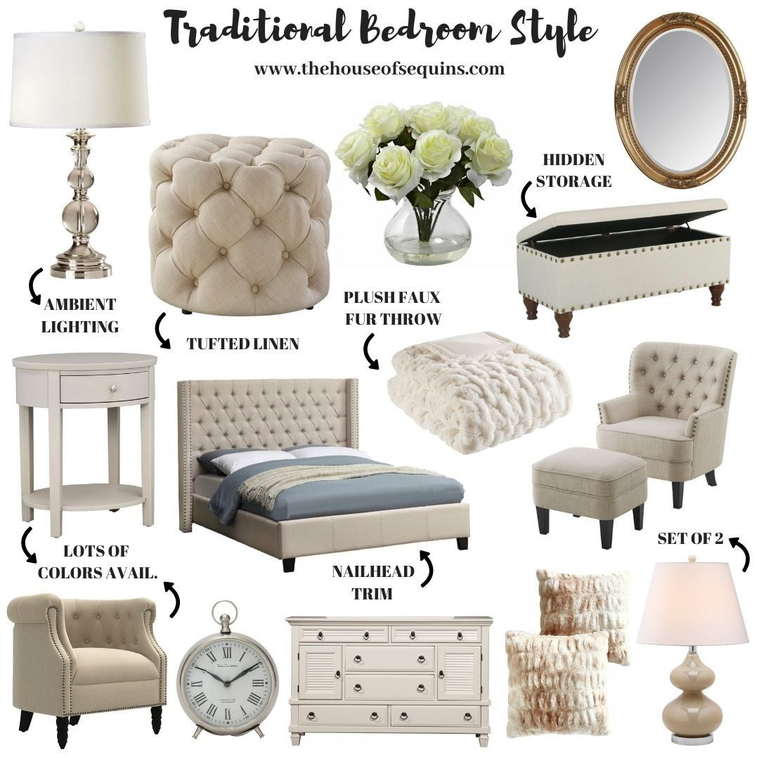 Boho, Farmhouse and Traditional Bedroom Decor - The House of Sequins