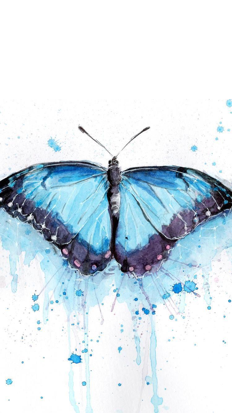 d4cab58434b Butterfly Wallpaper