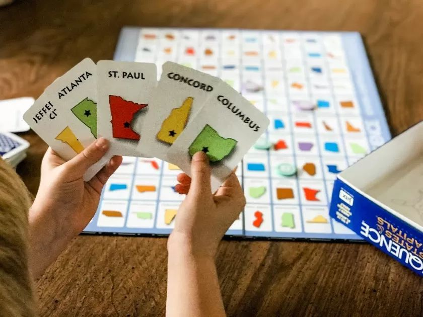 25 Geography Board Games Geography Card Games This Simple Balance In 2020 Card Games Board Games Geography For Kids