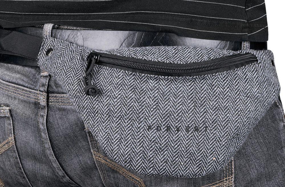 Forvert Leon, Hip-Bag, flannel-grey #HipBag #AccessoriesMale #titus #titusskateshop