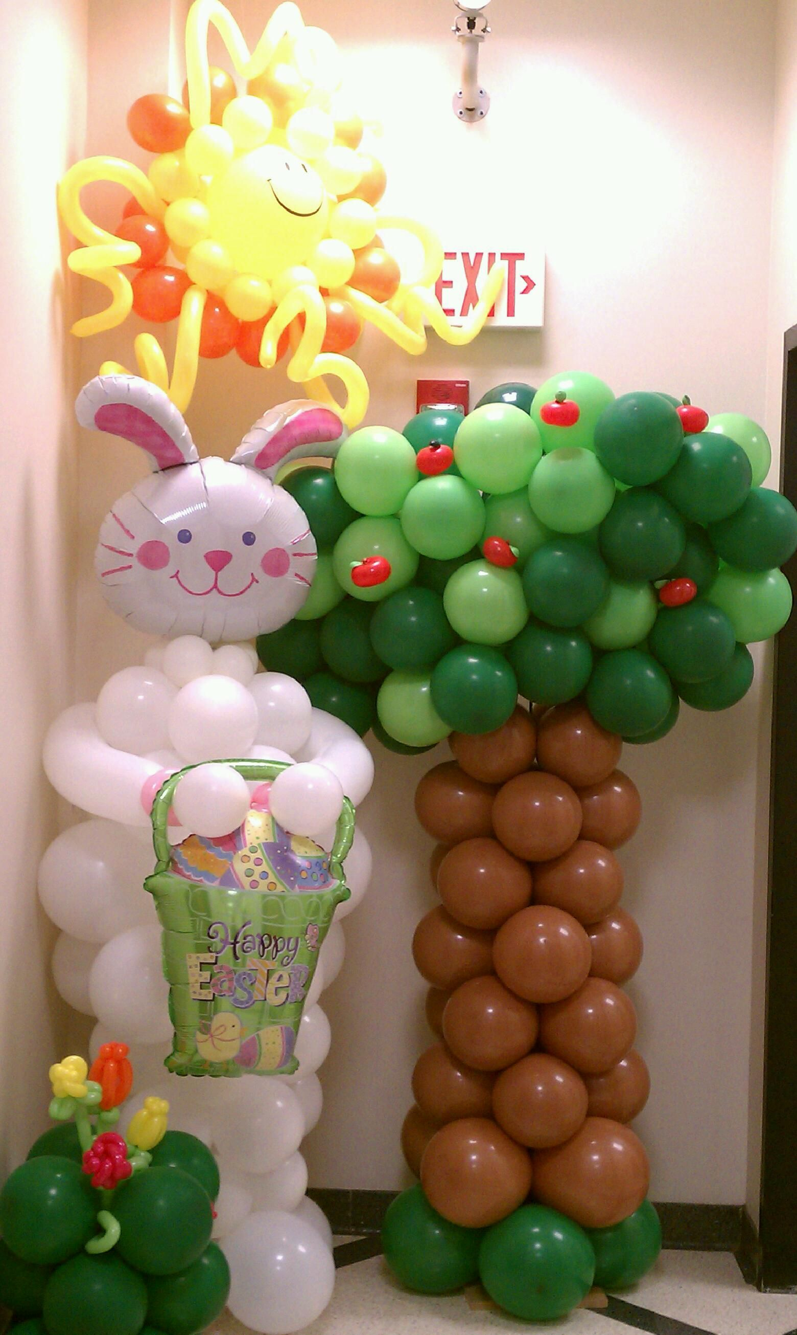 Easter Balloons 108