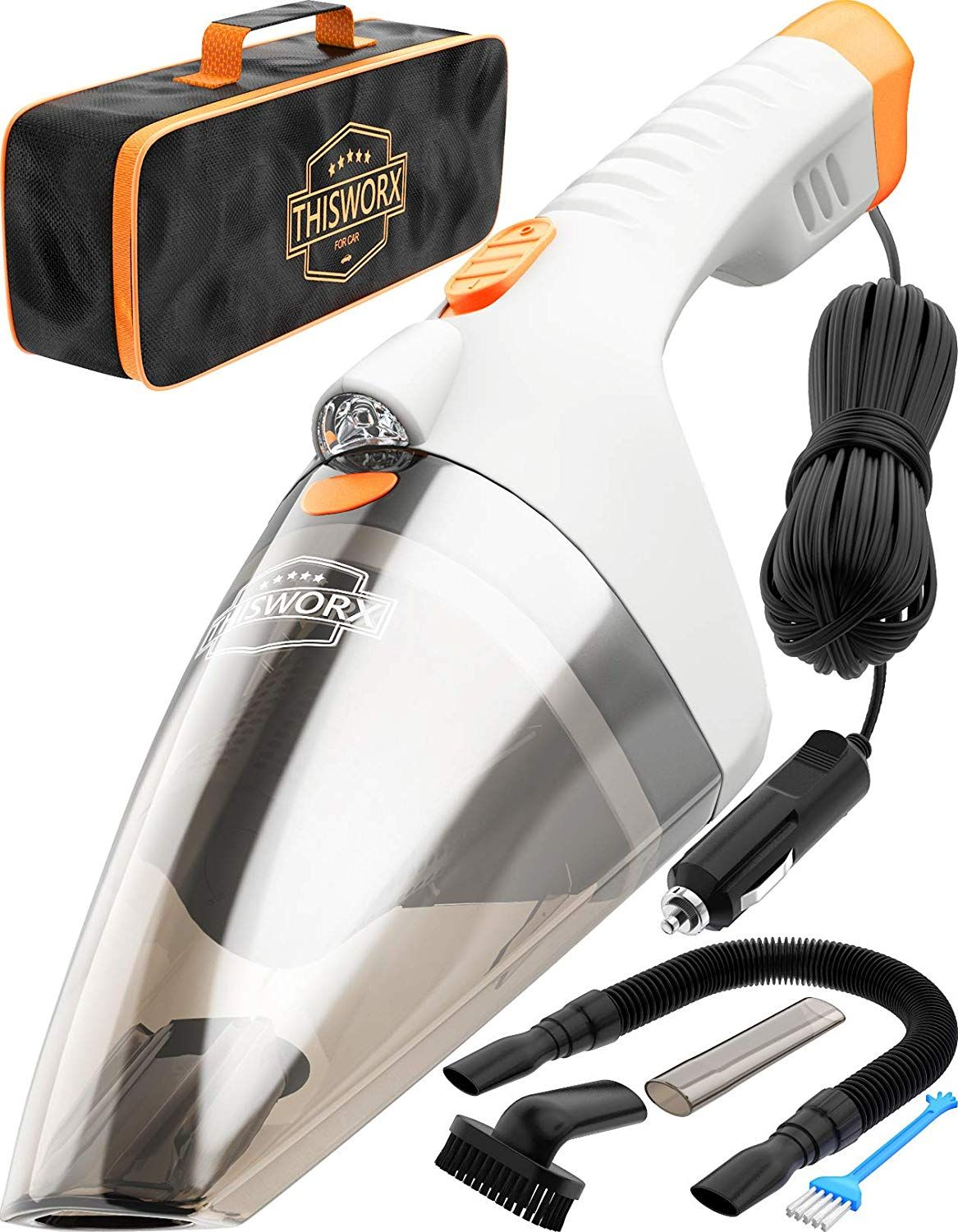 Car Vacuum Cleaner high Power 110W 12v Corded auto