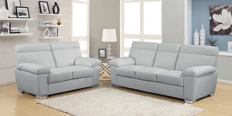 Grey Leather Sofa Set New Design 2019 2020 Living Room Sofa
