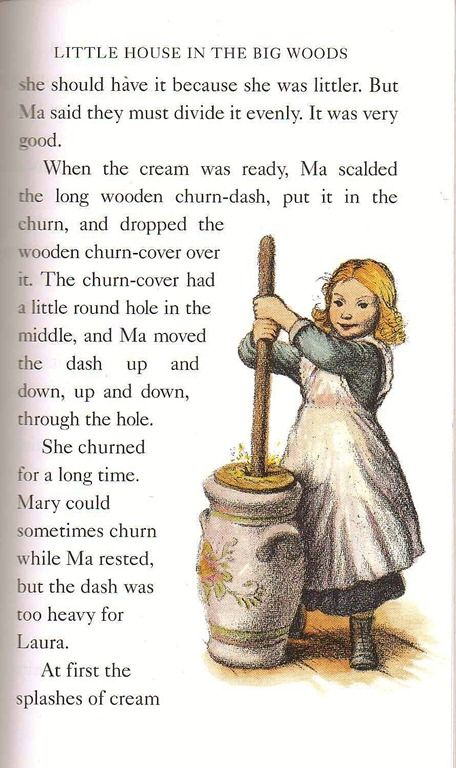 Trouble Part Two The Butter Churn Incident Little House