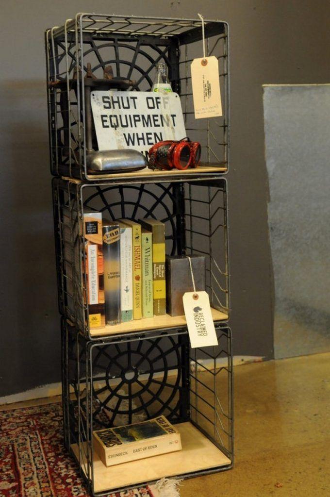 Nine Ways To Repurpose Milk Crates Crate Shelves Diy Milk Crate Shelves Crate Furniture Diy