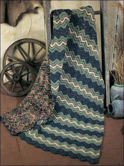 crochet ripple afghans - Google Search | Afghans | Pinterest