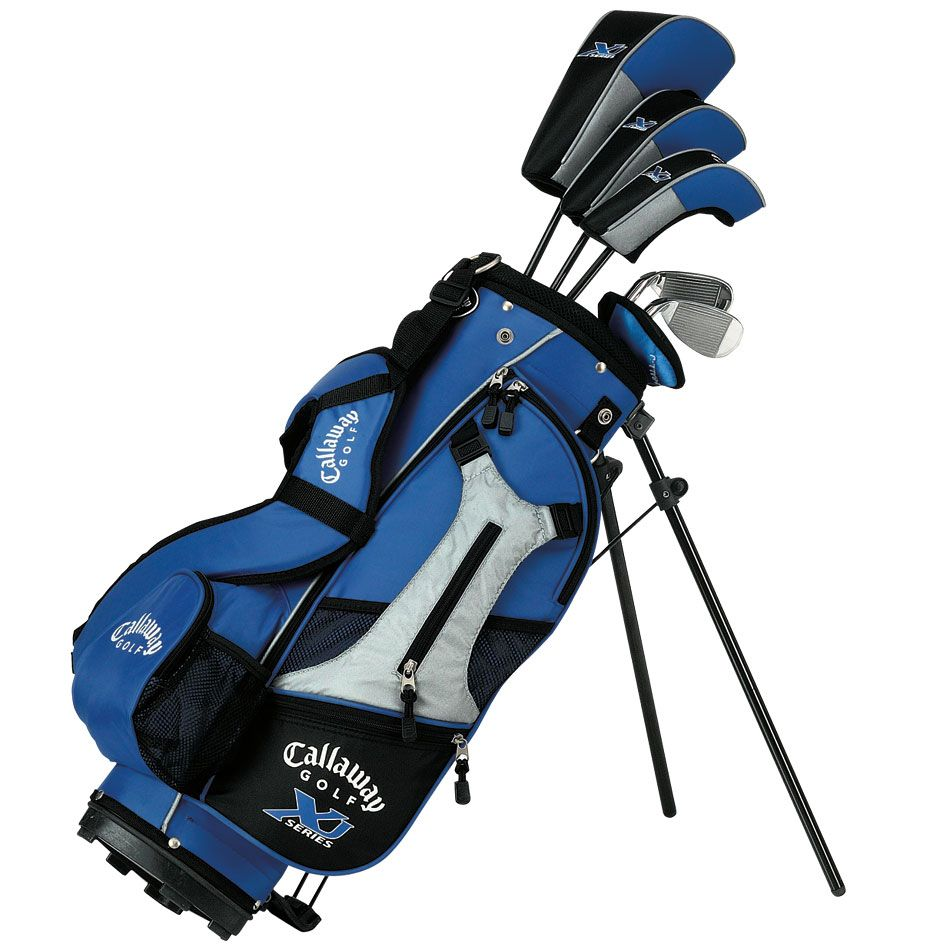 Callaway Xj Junior Sets Ages 5 8 Golf Kids Golf Clubs Junior Sets