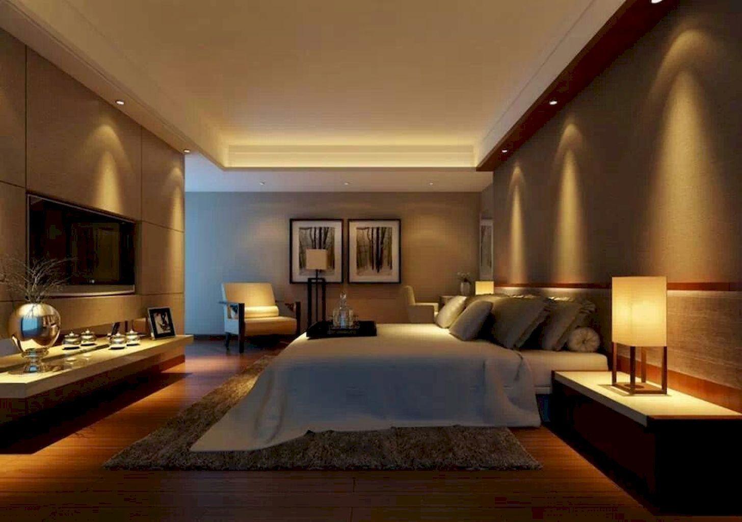 45 Best Bedroom Lights Create A Romantic Atmosphere Master Bedroom Lighting Modern Bedroom Lighting Luxurious Bedrooms