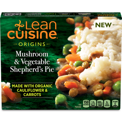 Mushroom & Vegetable Shepherd's Pie - Lean Cuisine in 2019 ...