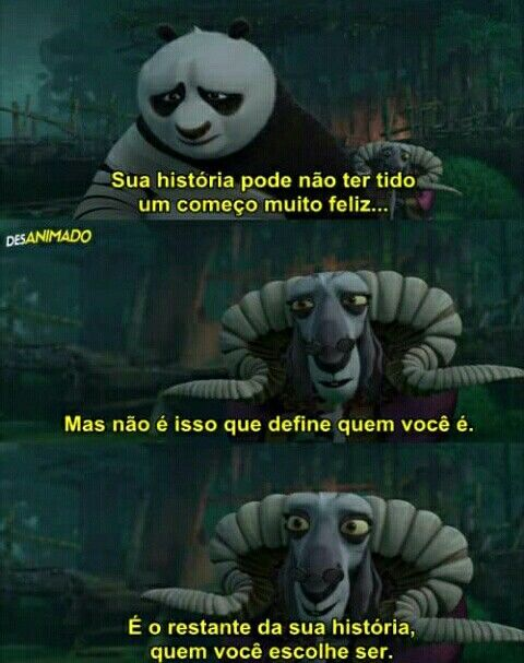 Kung Fu Panda Frases Inspiracionais Frases Indiretas E