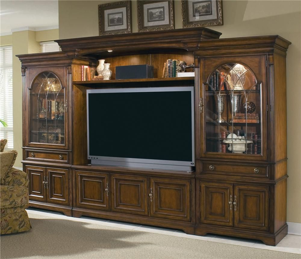 Charming Hooker Furniture Brookhaven Entertainment Center With .