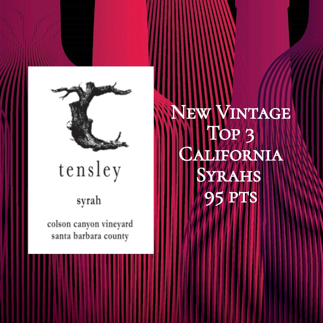 Tensley Syrah Colson Canyon Vineyard 2017 With Images Syrah Santa Barbara County Vineyard