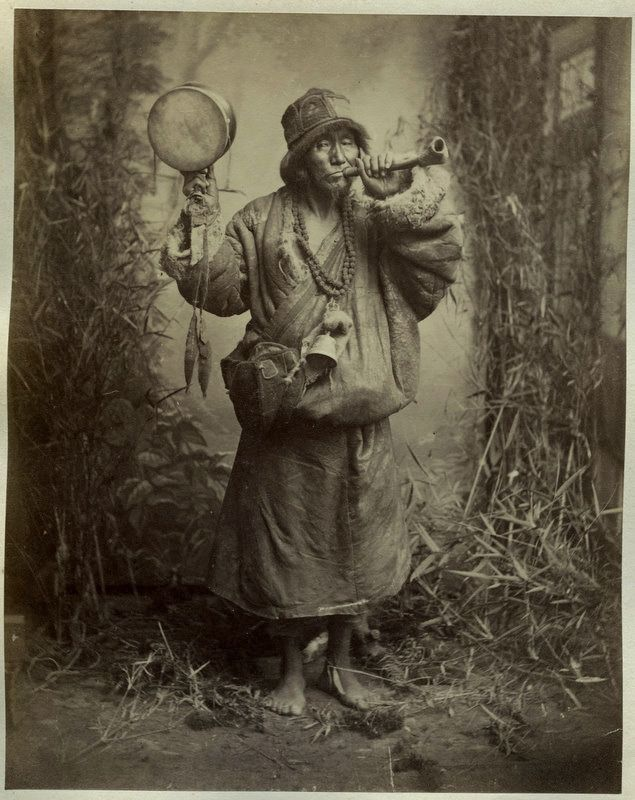photos of old buddhist monks | Photograph of a Lama or Buddhist Monk - 1880's - Old Indian Photos