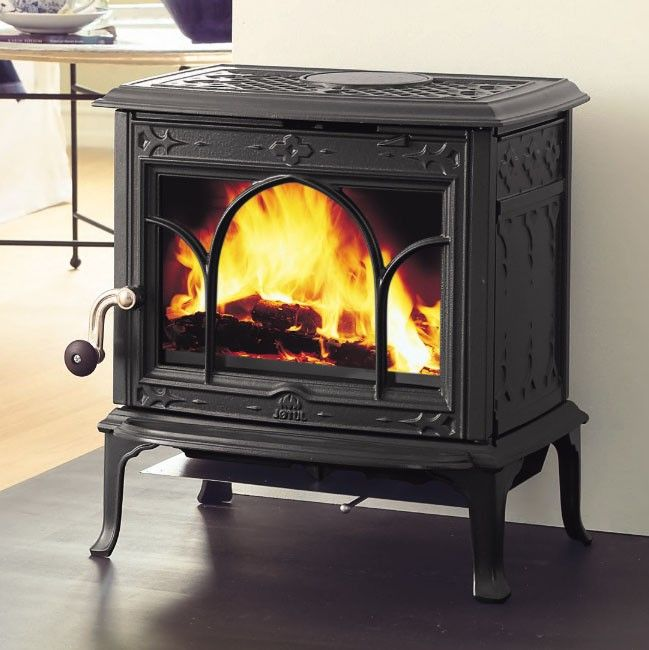 jotul f 100 nordic wood stove in blue black enamel wood. Black Bedroom Furniture Sets. Home Design Ideas