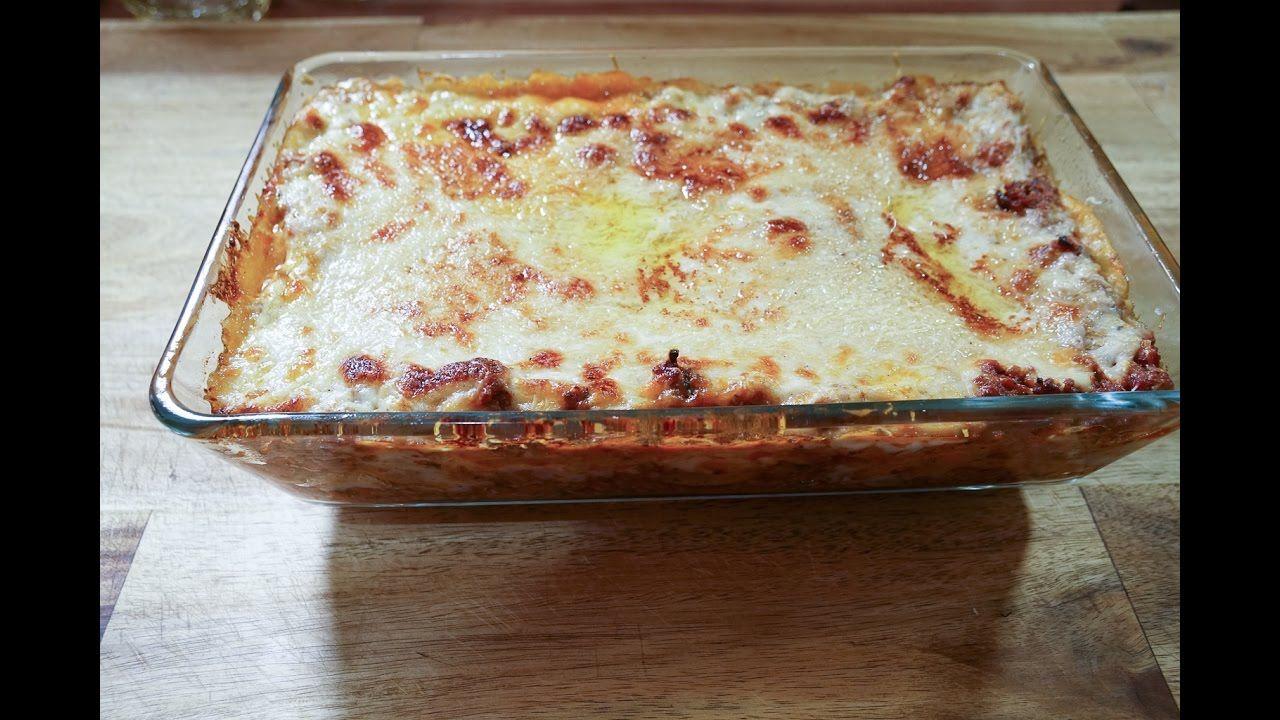 Lasagne -- Rezept und Anleitung - Natürlich Lecker