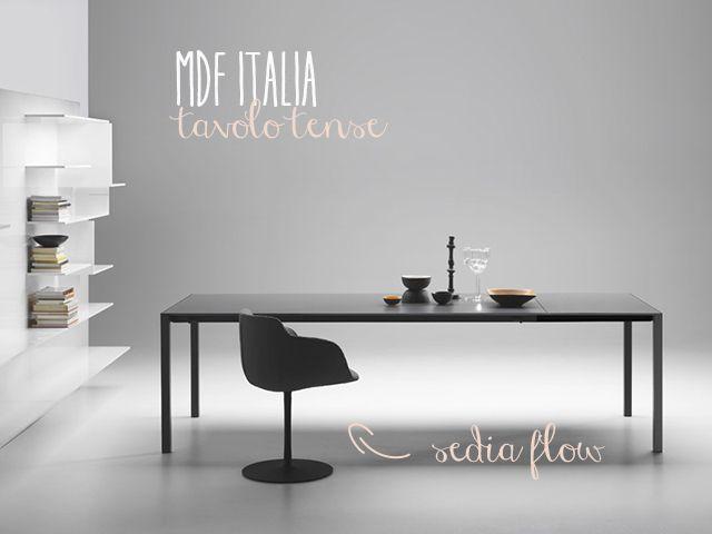 Mdf Sedie ~ Come abbinare tavolo e sedie sette soluzioni di design modern