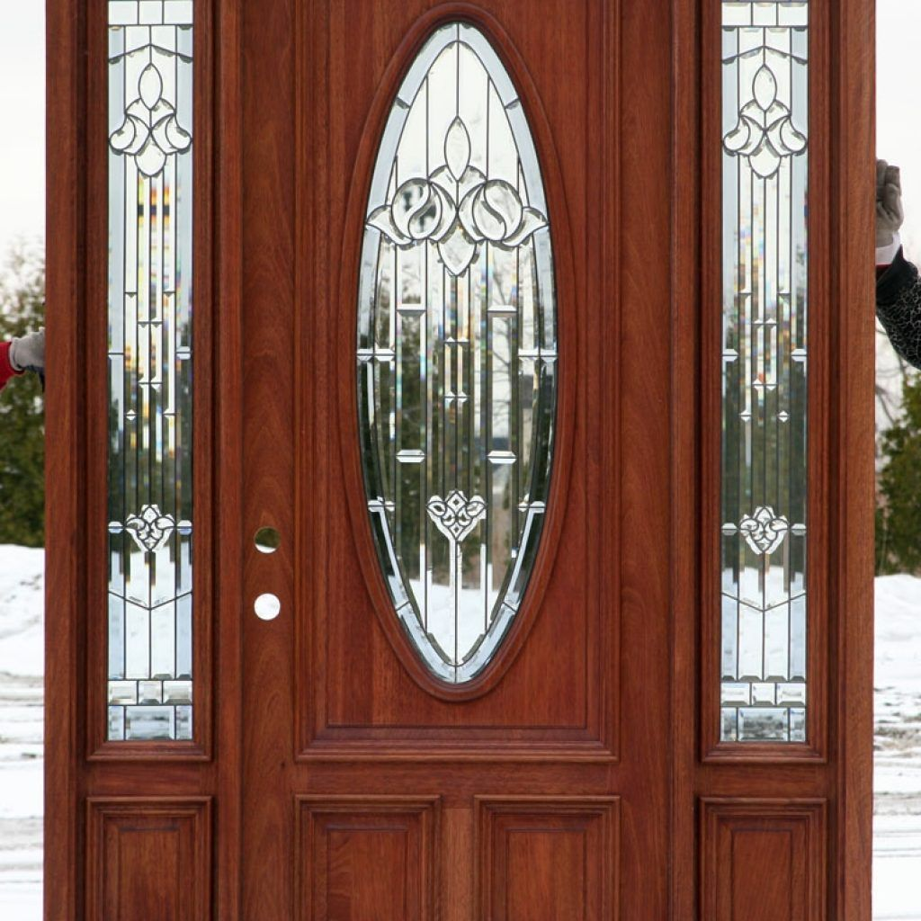 Lowes Exterior Doors With Glass / ✔ modern energy saving weather proof front doors for apartments and houses.
