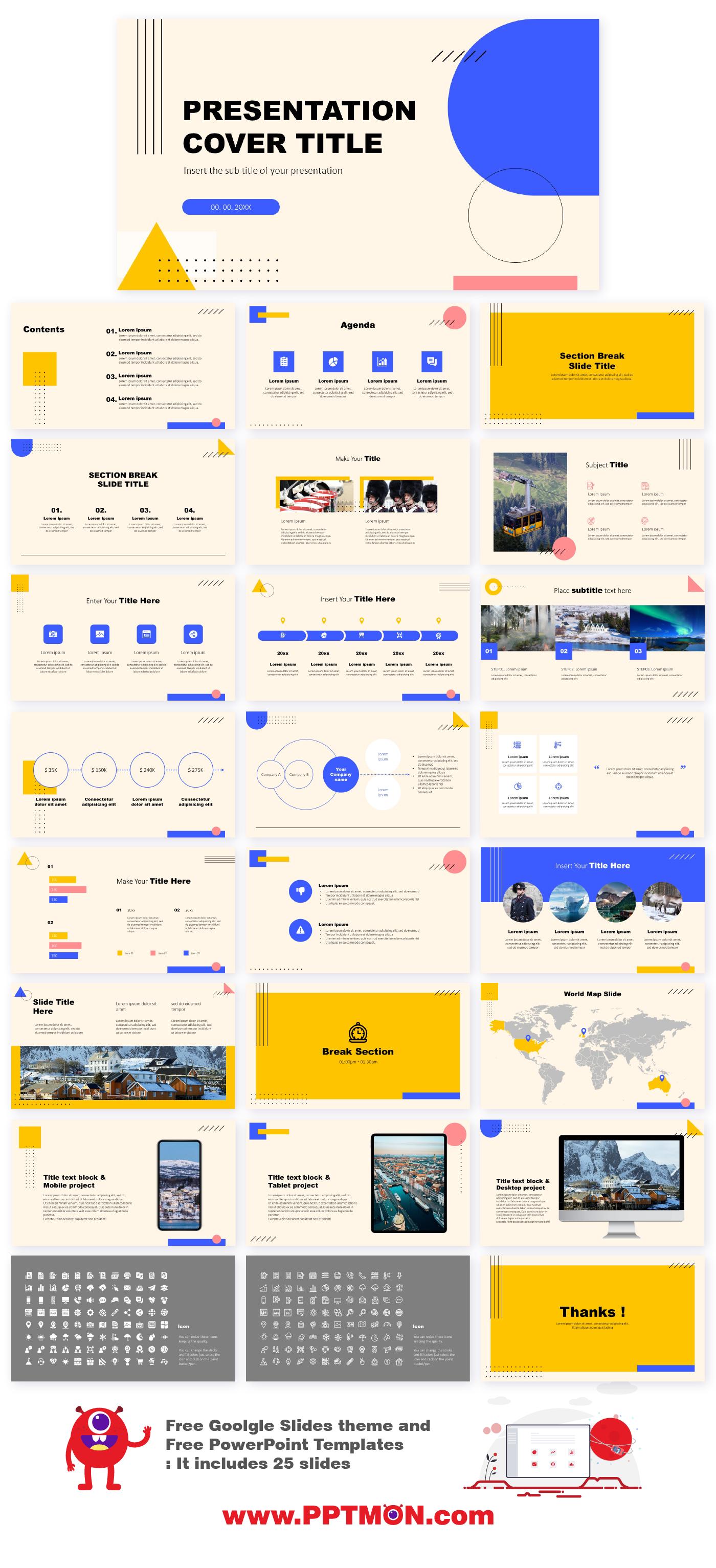 Minimal Memphis Design Presentation Free Google Slides Theme And Powerpoint Te Powerpoint Templates Creative Powerpoint Templates Powerpoint Design Templates