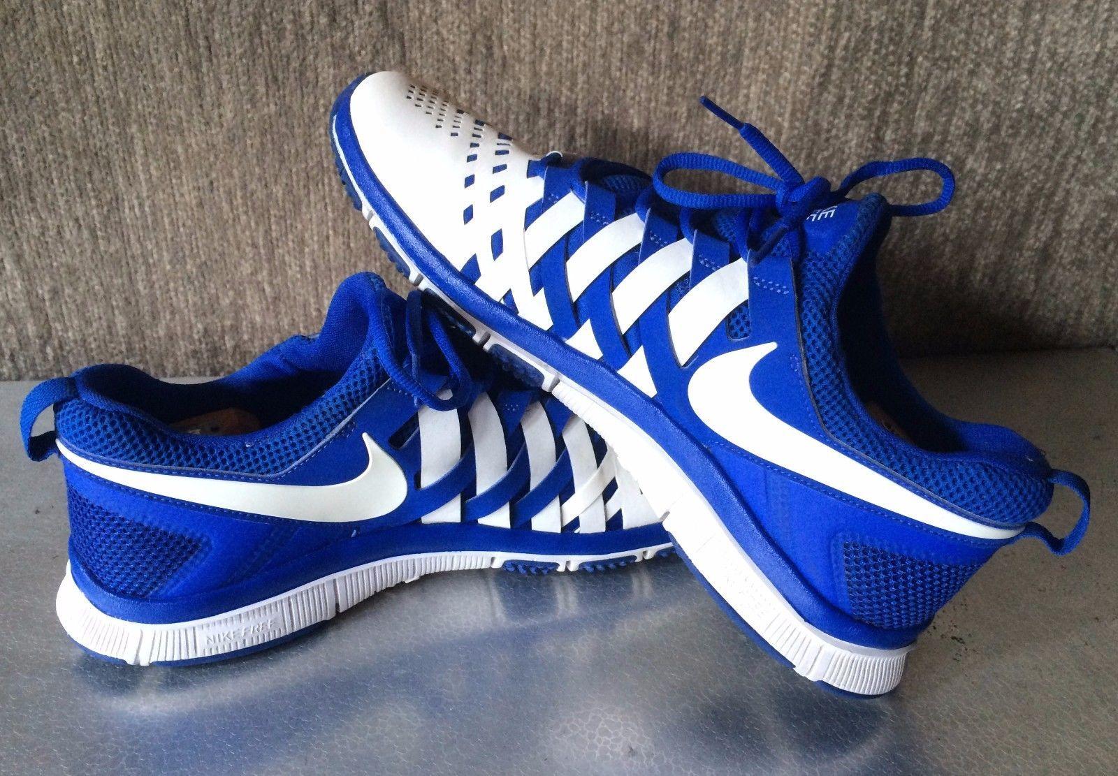 Nike Free 5.0 Fingertrap Trainer Training Shoes Blue & White