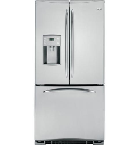 Ge Profile Energy Star 22 0 Cu Ft French Door Refrigerator Pfss2mjyss French Door Refrigerator Best French Door Refrigerator French Door Bottom Freezer Refrigerator