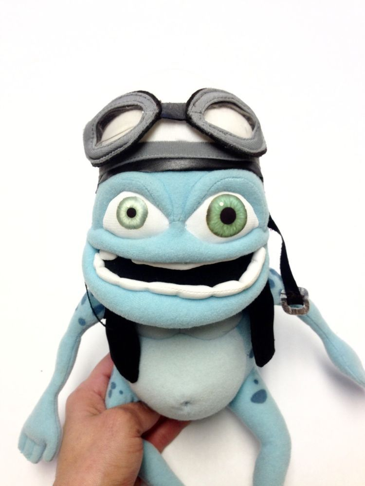 The Annoying Thing Crazy Frog Plush Toy Talking Works