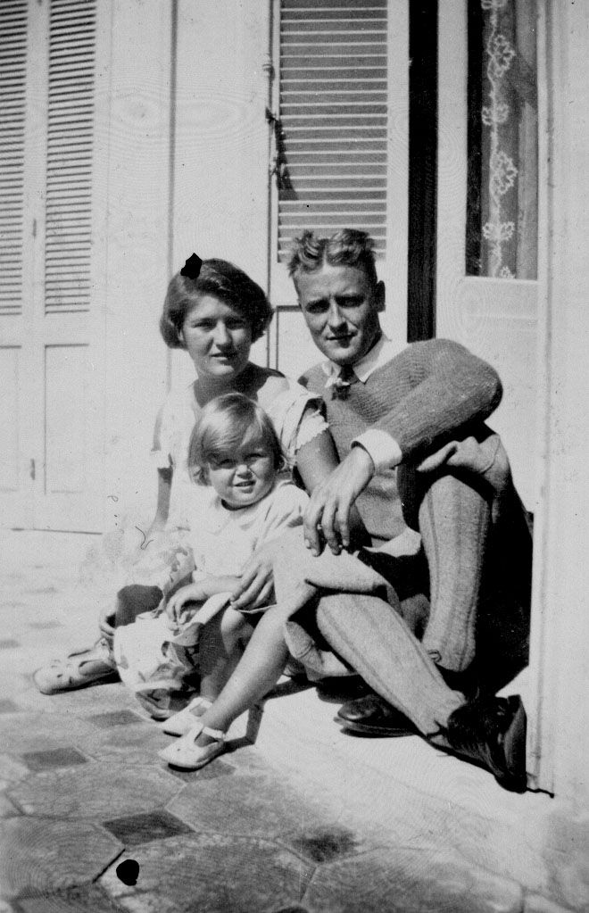 F Scott Fitzgerald Daughter F. Scott, Zelda and Sc...