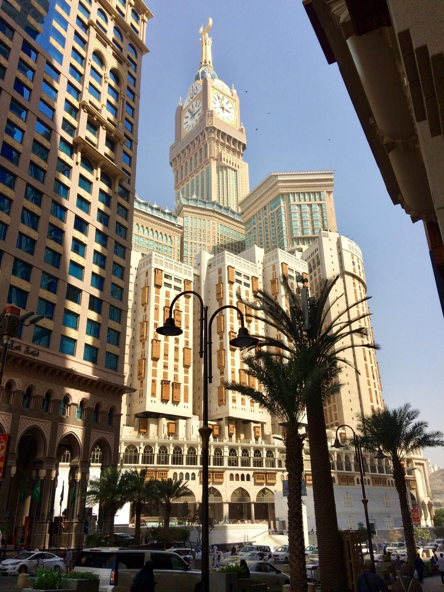 Clock Tower In Mecca Saudi Arabia City Cities Buildings
