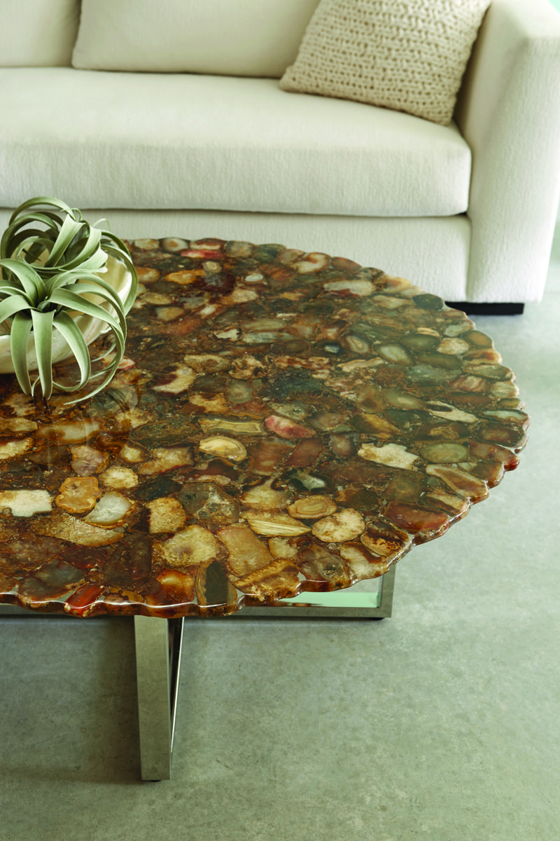 Assorted Agate Coffee Tables Are Now Available Beautiful Agate