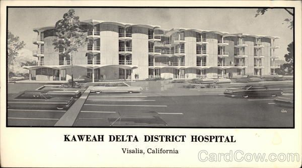 Kaweah Delta District Hospital Visalia California Visalia Tulare County