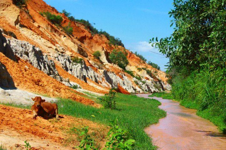 Fairy Stream , Mui ne , Vietnam