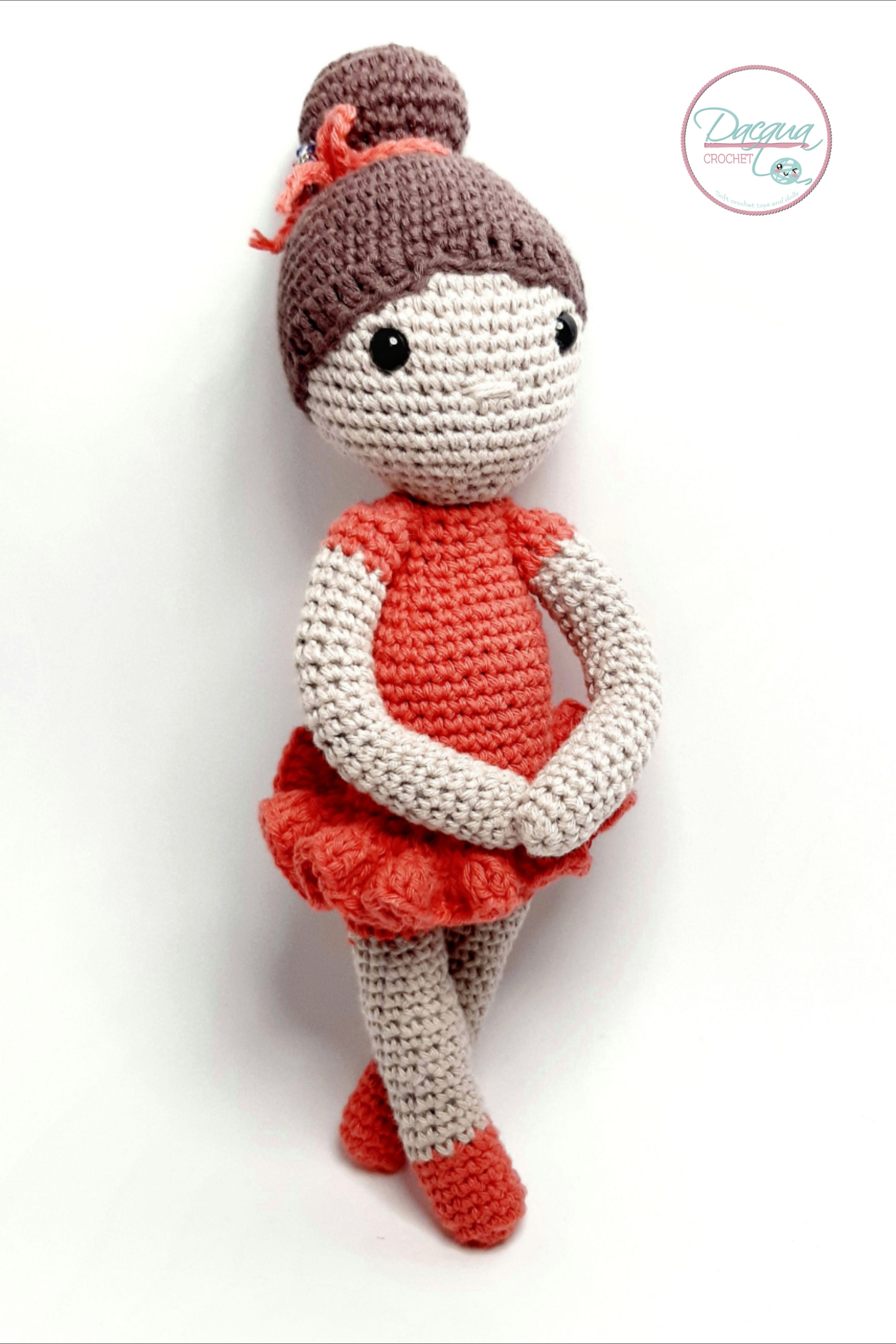 Ballerina bionda amigurumi 4 - magiedifilo.it punto croce ... | 6582x4388