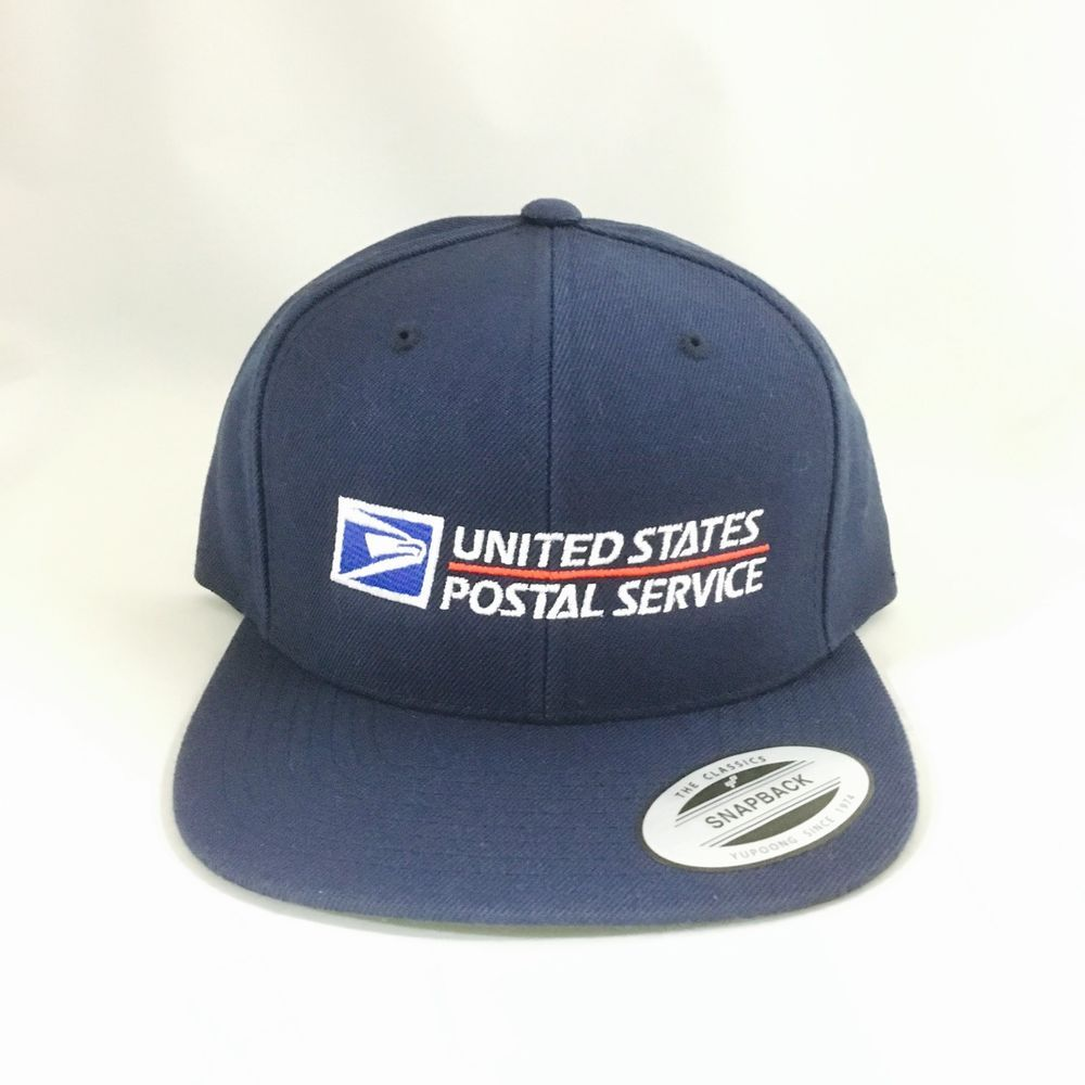 USPS Snapback Cap United States Postal Service Adjustable Hat Yupoong 6089M  Navy  fashion  clothing  shoes  accessories  mensaccessories  hats (ebay  link) fe00b74b2ce