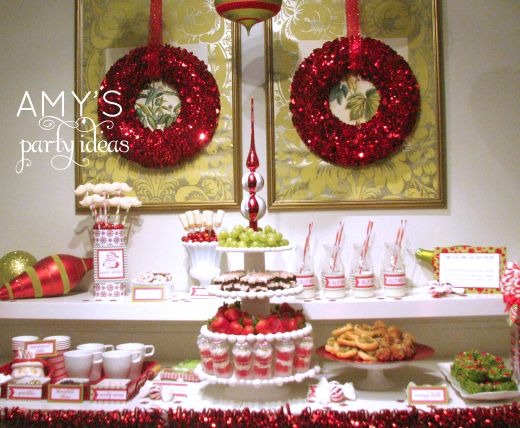 Gentil Christmas Table Centerpieces For Banquet | Gingerbread House Decorating  Party Ideas Christmas