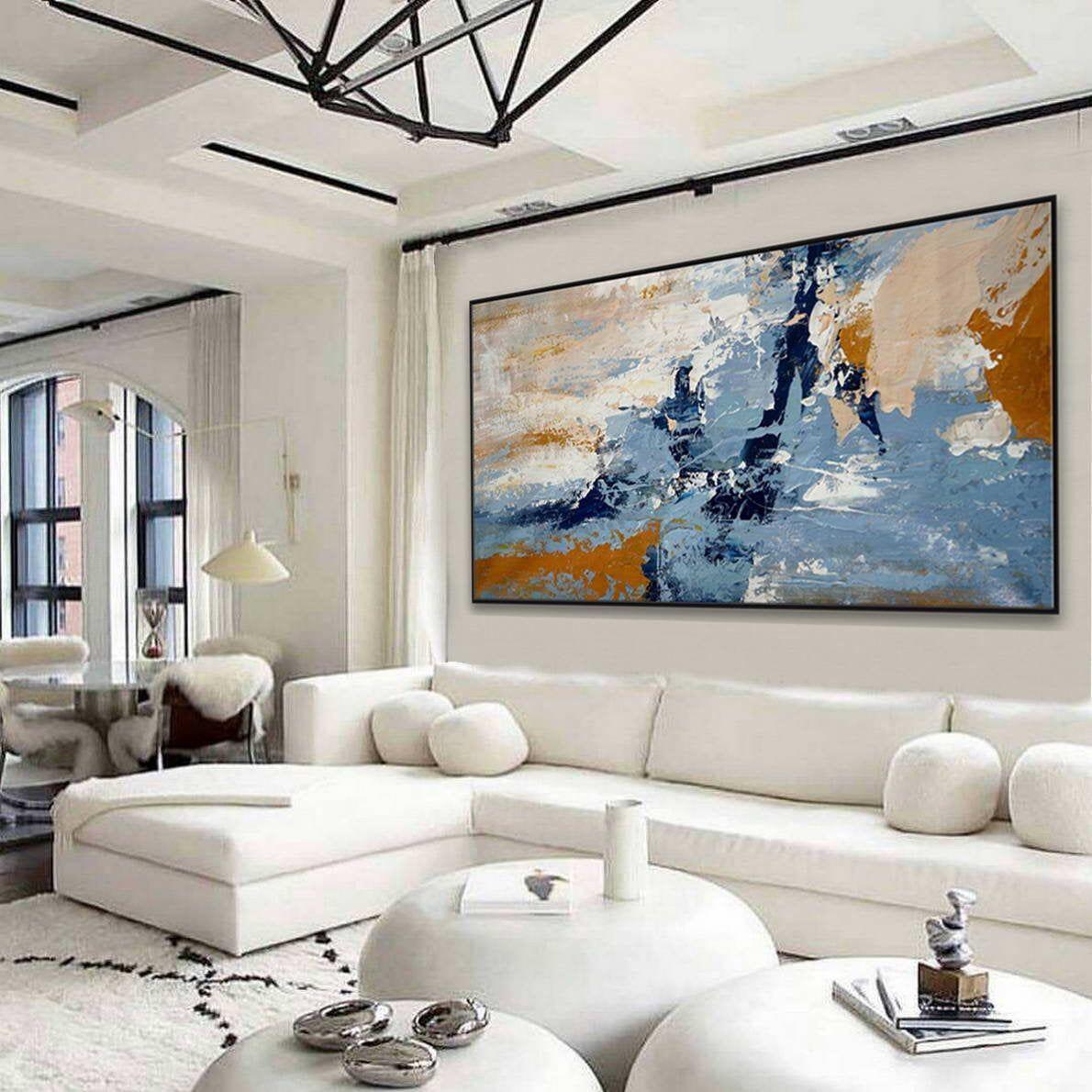 Neutral Abstract Art Set Of 2 Art Prints Large 24x36 Art Etsy In 2021 Diptych Wall Art Oversized Wall Art Modern Abstract Wall Art