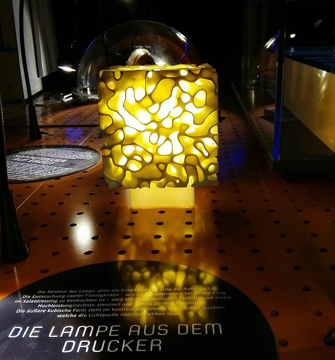 Something we liked from Instagram! Technische Sammlung Dresden A lamp made with a 3 D printer... #3dprinter#3ddruck#lamp#light#licht#technology#technologie#dresden#deutschland #ig_deutschland#instagramde by mela.lichtbild check us out: http://bit.ly/1KyLetq
