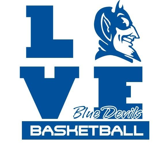 Love Duke Duke Blue Devils Basketball Blue Devils Logo Duke Blue Devils