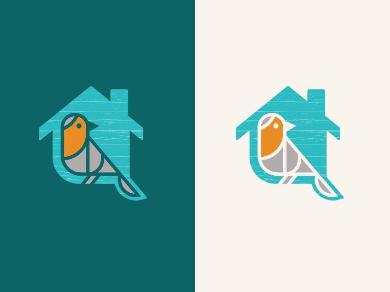 Unused Bird + House Logo (With images) | Home logo, Bird ...