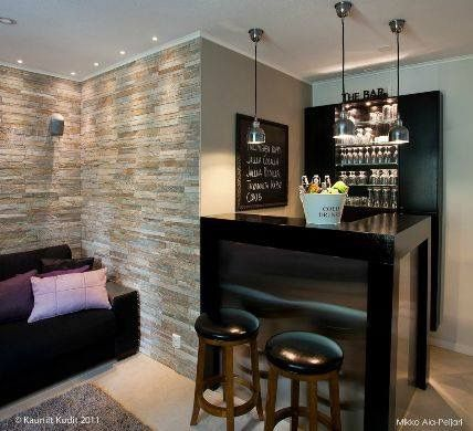 Cantina peque a decoracion casa pinterest cantinas for Muebles para montar