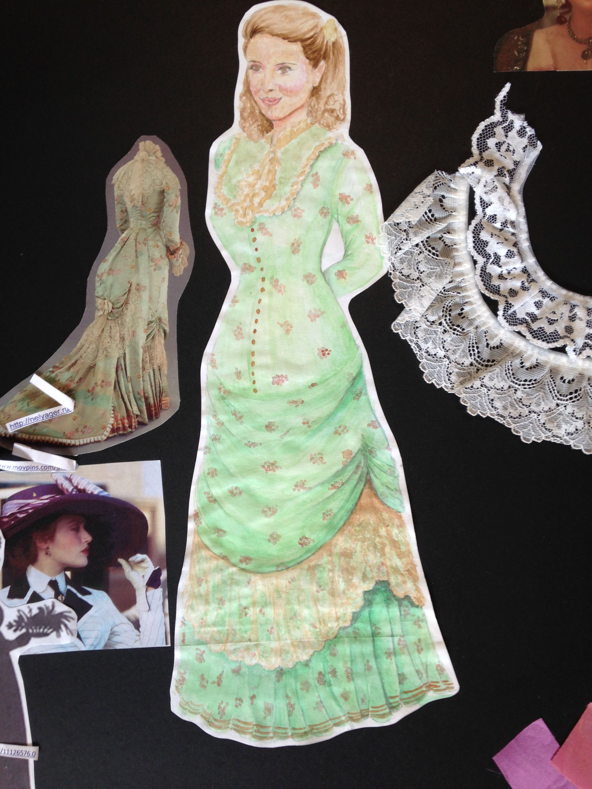 Costume Design For Nora In Henrik Ibsens A Dolls House