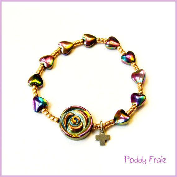 Baby rosary bracelet baptism gift prayer beads handmade rosary baby rosary bracelet baptism gift prayer beads handmade rosary xmas catholic gift baby baptism gift negle Images