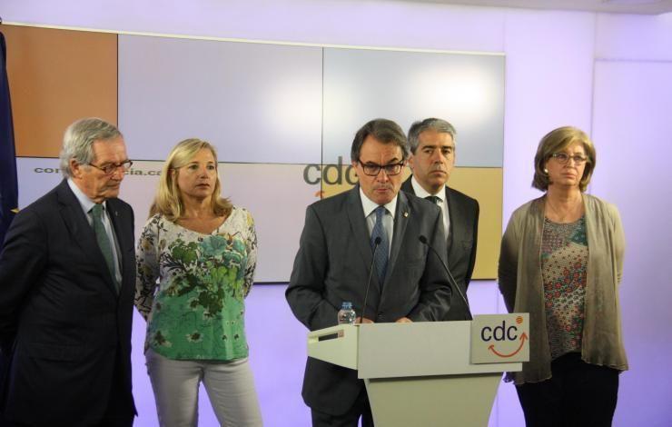 Las defensas de Mas Ortega y Rigau piden otra vez al TSJC el archivo de la causa por el 9-N