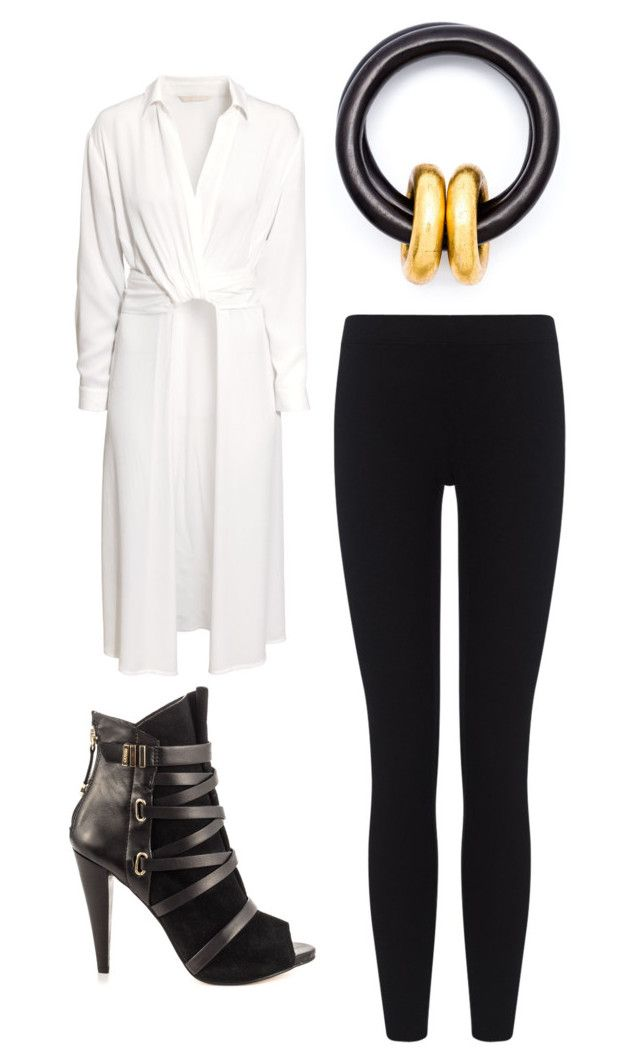 """""""Outfit Idea by Polyvore Remix"""" by polyvore-remix ❤ liked on Polyvore featuring GUESS, Monies, James Perse and H&M"""