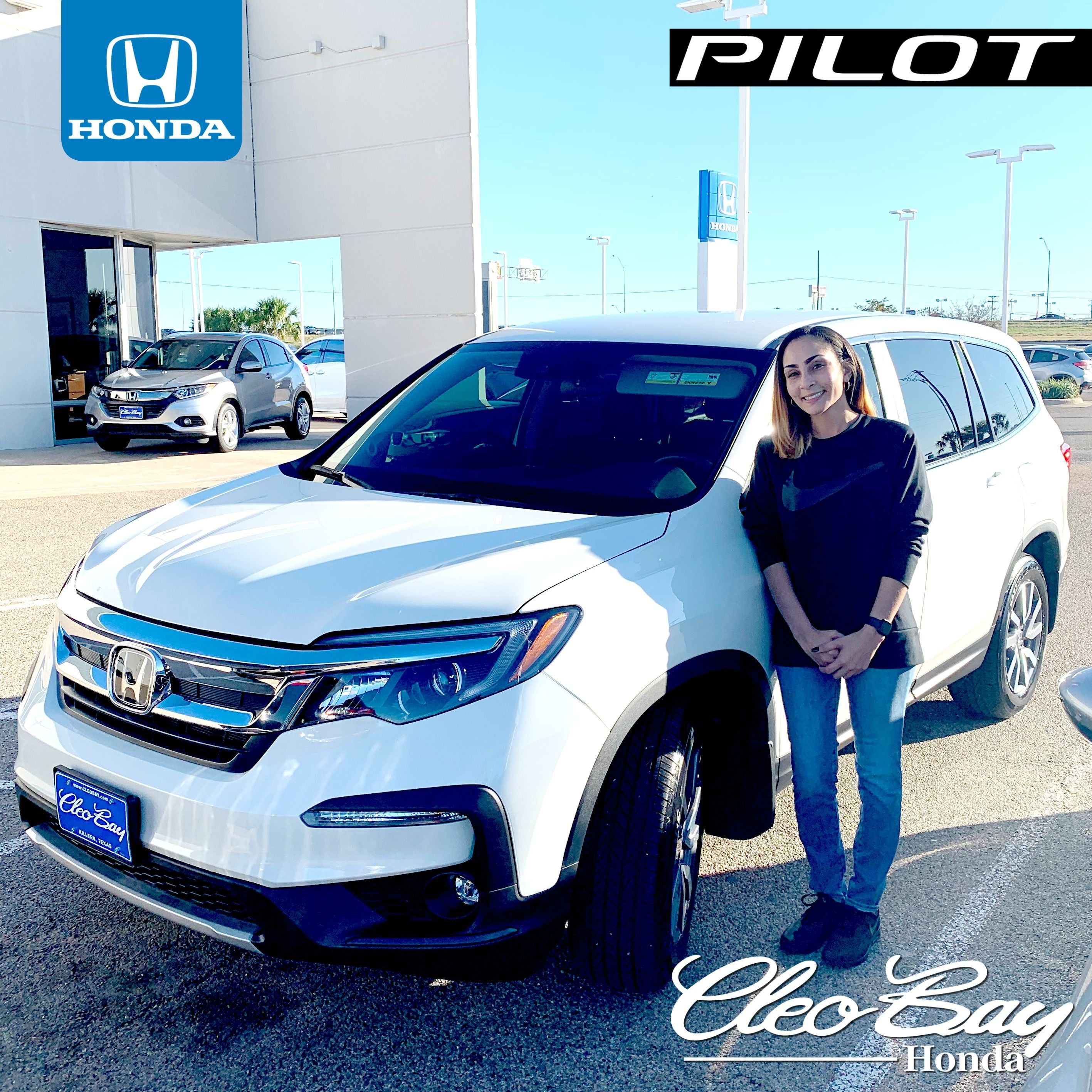 Congratulations Shawntea On Your Recent Purchase Of A New 2019 Honda Pilot Ex Click The Pic To Check Out Our Complete Inventory Honda Pilot Honda Honda Sales