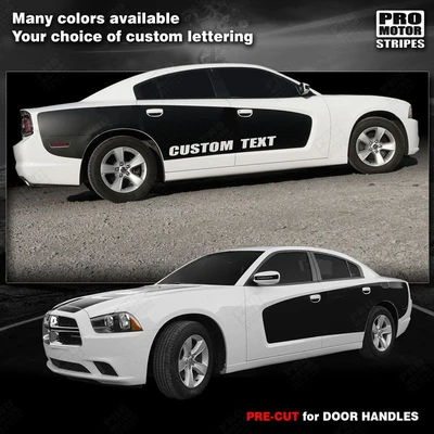2014 2013 2012 2011 Dodge Charger Decals Stripes Auto Graphics Side Pro Motor Stripes Dodge Charger Auto Graphics Stripes