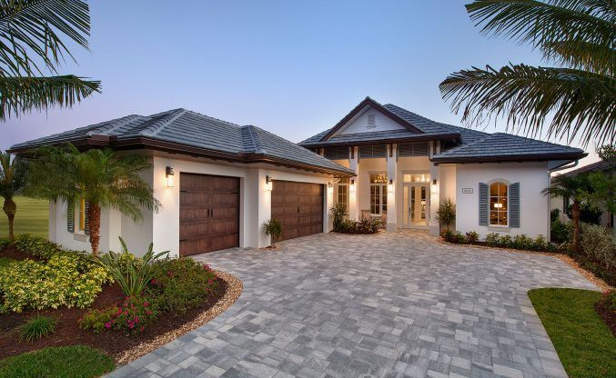 Tidewater Vacation Home Coastal Contemporary Weber Design Group Inc Naples Palm Beaches Fl Mediterranean Style House Plans Beach Style House Plans Mediterranean Homes