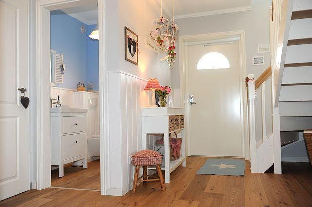 Kleine lotta ~ unser schwedenhaus: unsere diele garderobe & flur